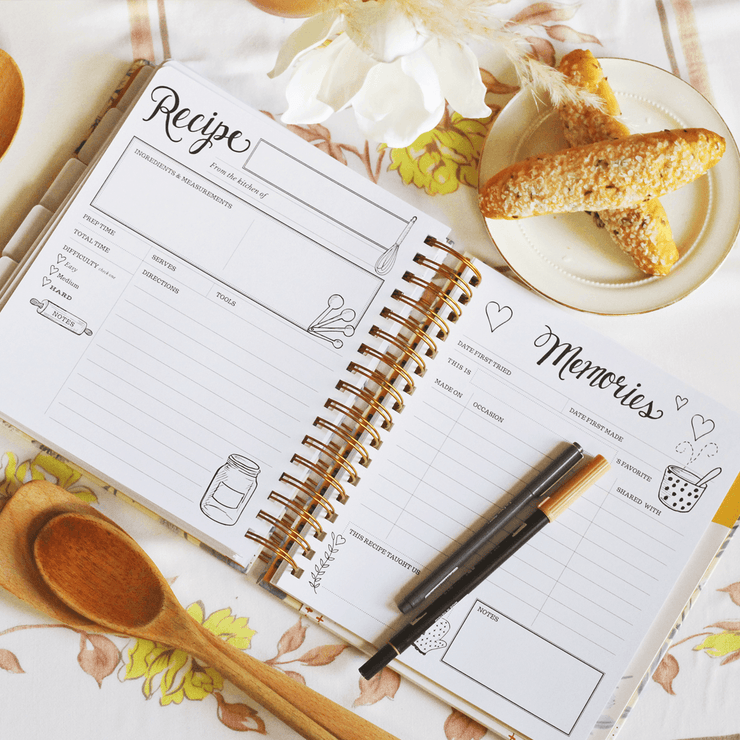 The Keepsake Kitchen Diary for Newlyweds