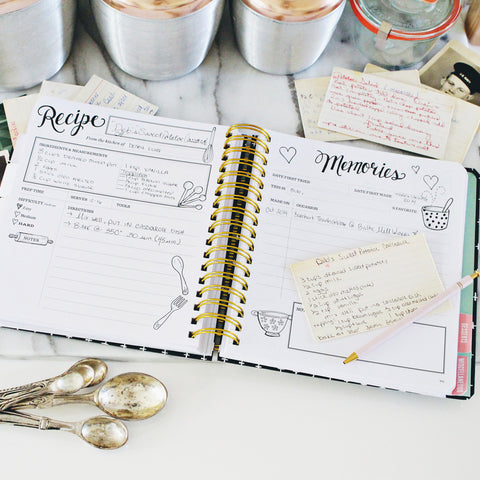 The Keepsake Kitchen Diary™ - Classic