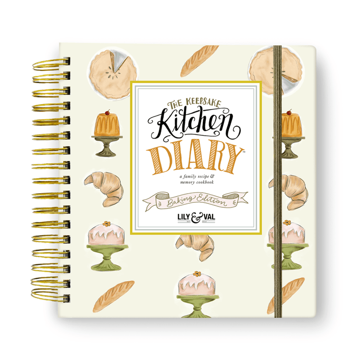 The Keepsake Kitchen Diary™ - Baking Edition