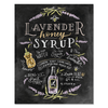 Lavender Honey Syrup Recipe - Print & Canvas