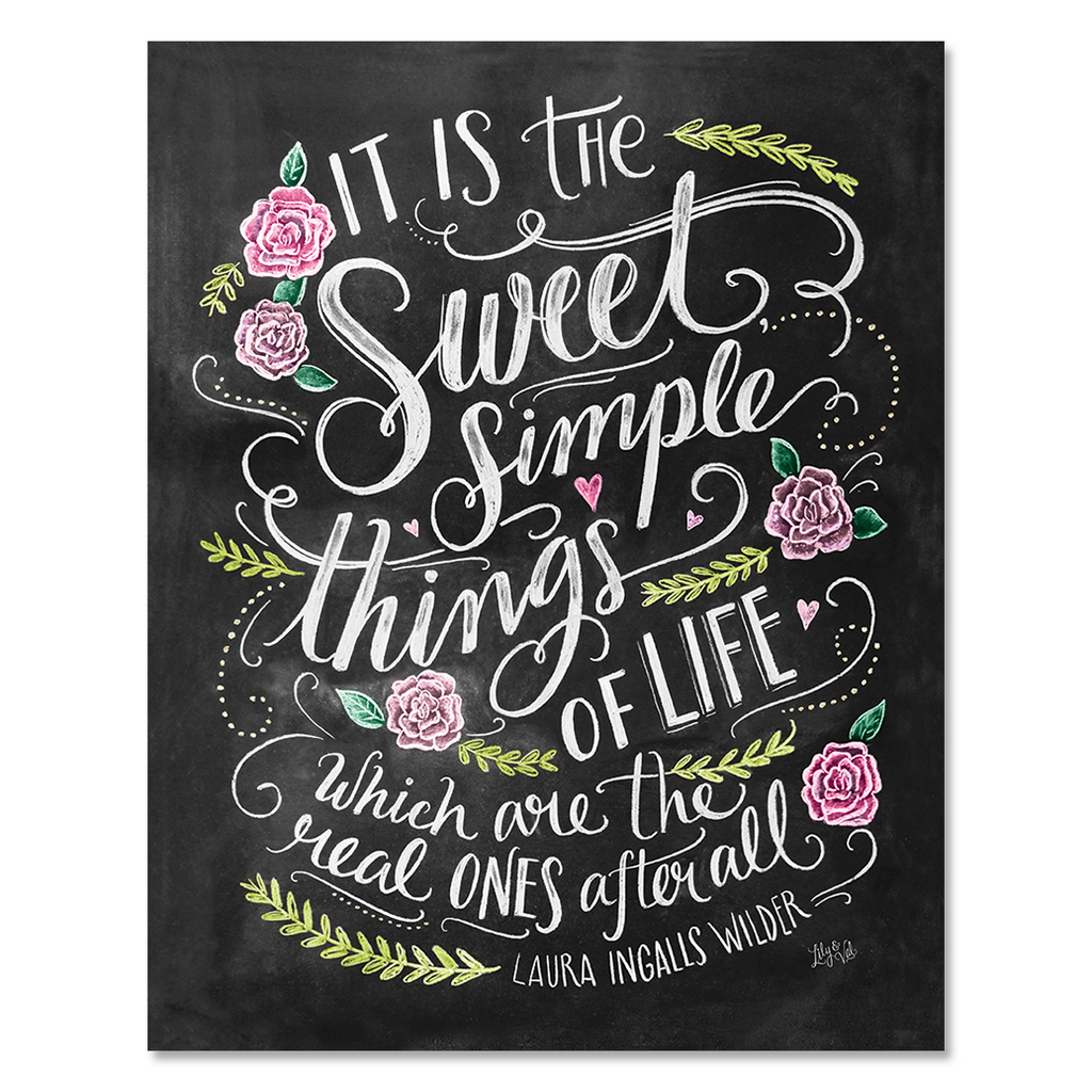 Sweet Simple Things in Life - Print