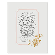Sweet Simple Things - Print
