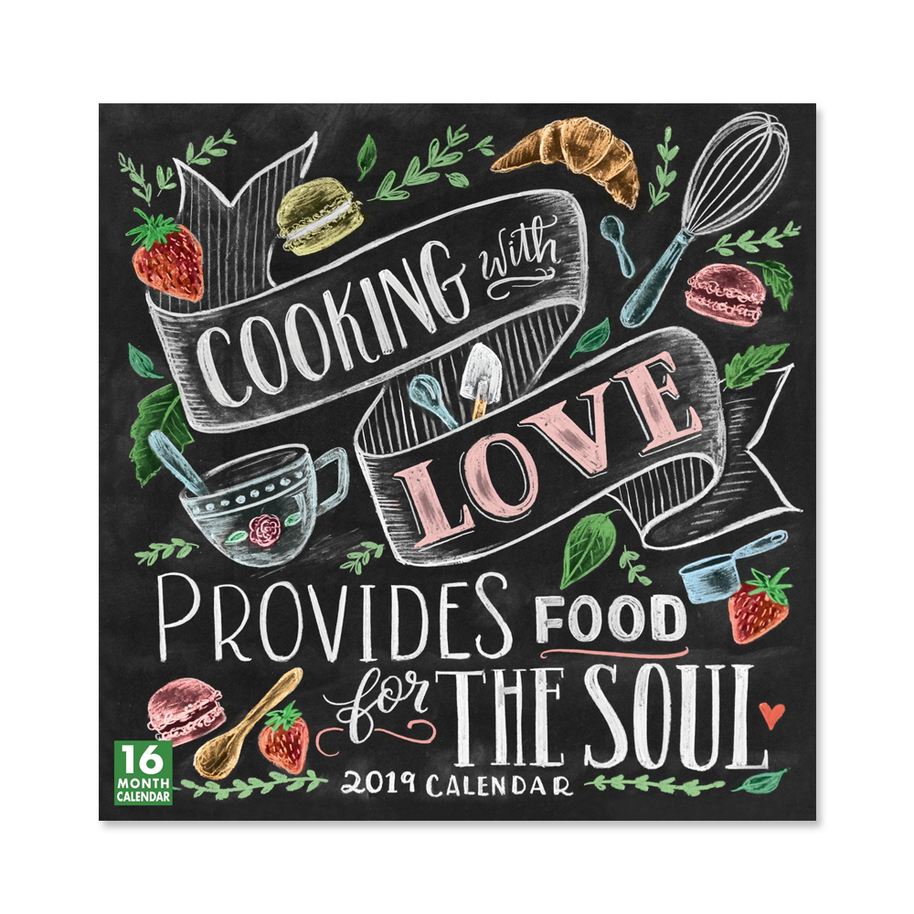 2019 Cooking With Love Calendar