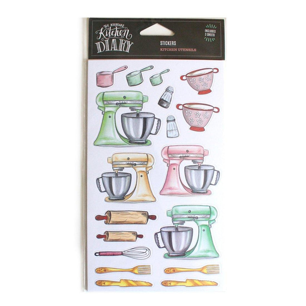 Kitchen Utensils - Stickers