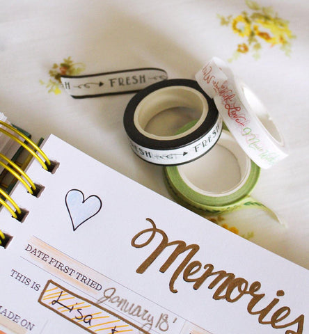 Made With Love - Washi Tape