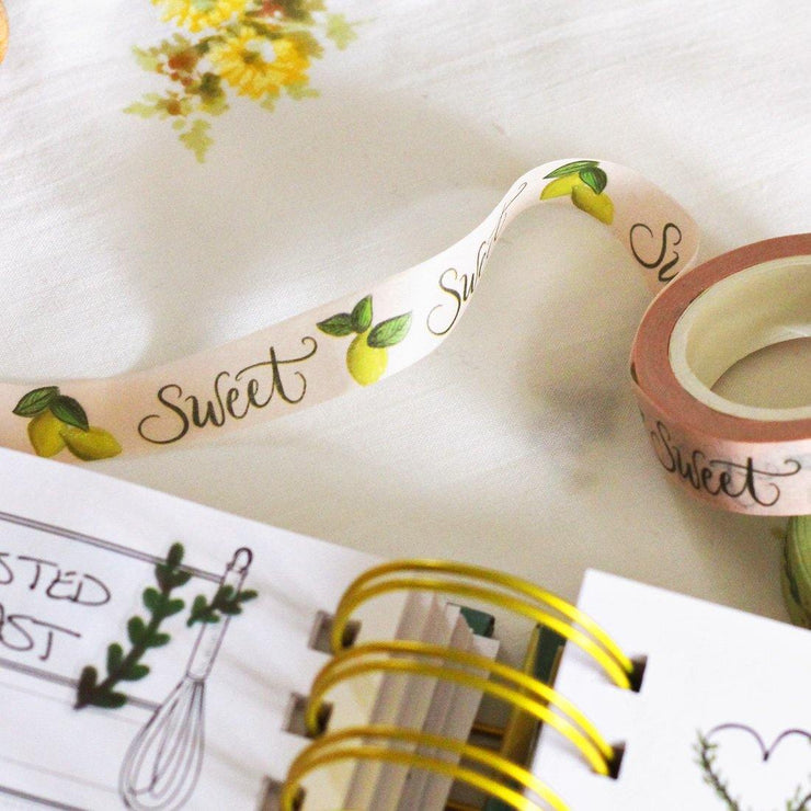 Sweet Lemons - Washi Tape