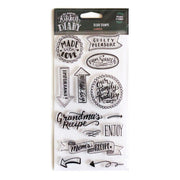 Clear Stamps - Kitchen Labels