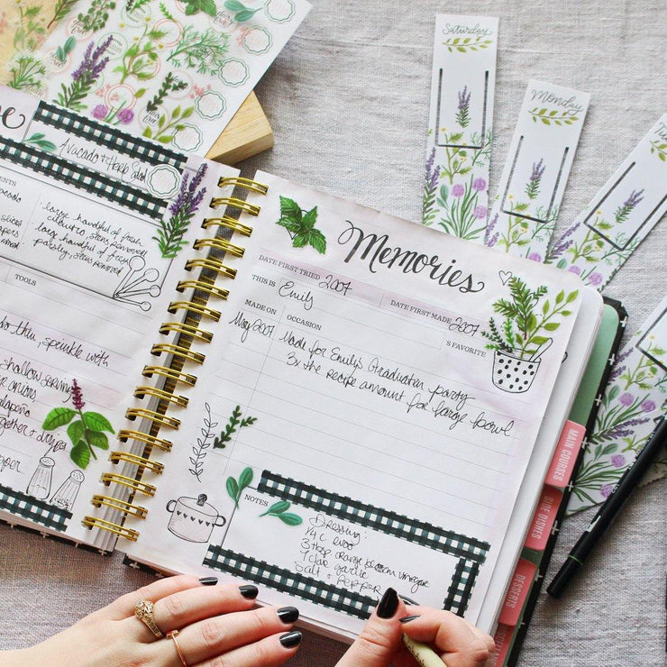 Herbs - Kitchen Diary Crafting Bundle