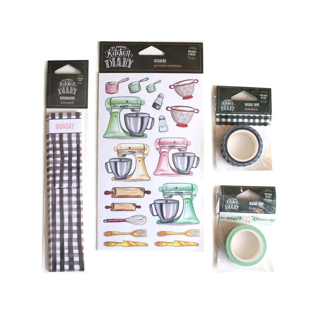 Farmhouse - Kitchen Diary Crafting Bundle