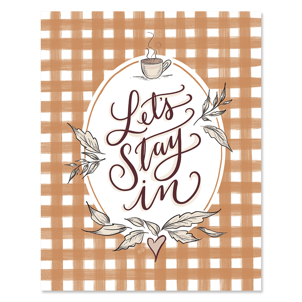 Let's Stay In - Print
