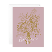 Love You Mom - A2 Note Card