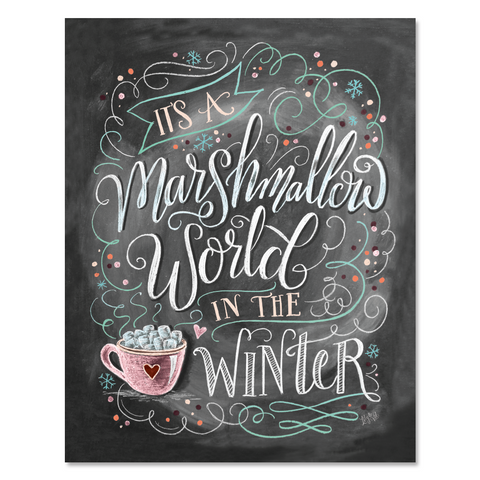 Marshmallow World - Print