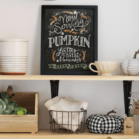 Now Serving: Pumpkin - Print