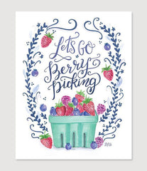 Let's Go Berry Picking - Print