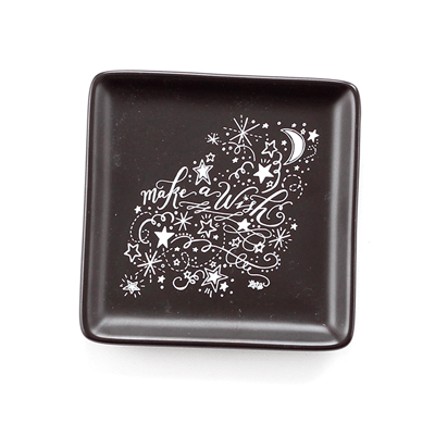 Make A Wish - Stoneware Trinket Tray