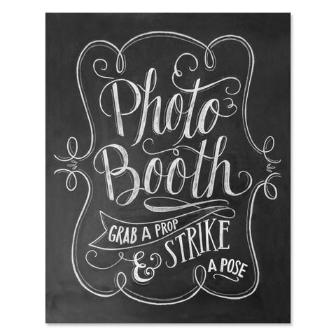 Grab A Prop And Strike A Pose - Print