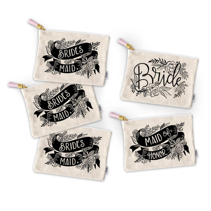 Bridal Pouch Package Zippered Pouches