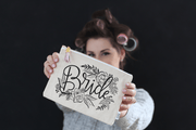 Canvas bag wedding gift for bride by Lily & Val
