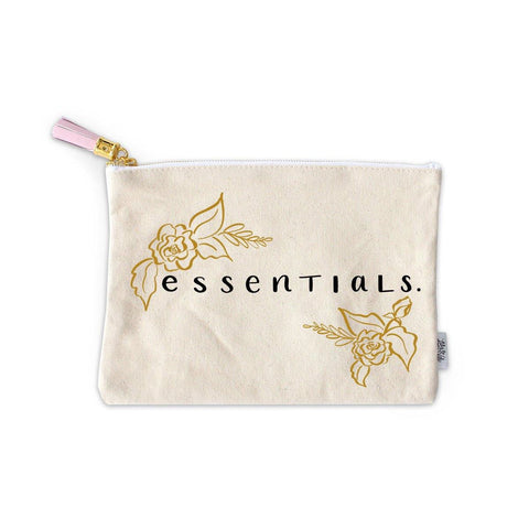 Essentials Zippered Pouch