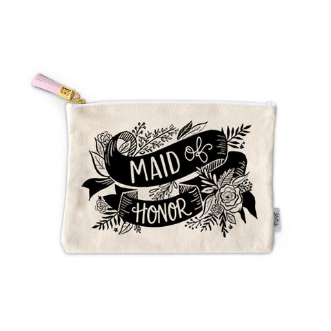 Maid of Honor Zippered Pouch