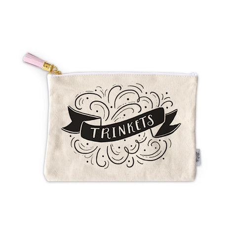 Trinkets Zippered Pouch