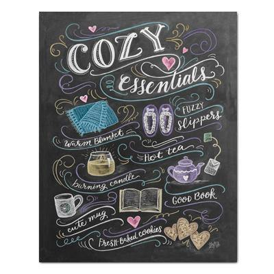 Cozy Essentials - Print