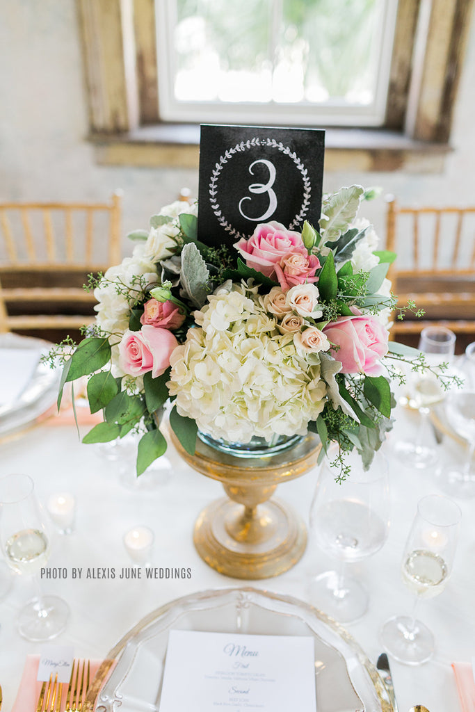 Lily & Val – Chalkboard Table Numbers - Vintage Wedding Table ...