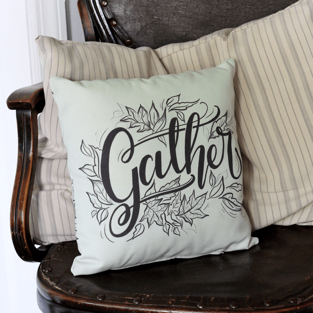 Gather Handmade Pillow