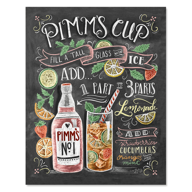 Pimm's Cup cocktail recipe for your summer kitchen