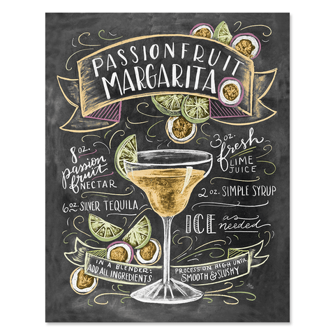Passionfruit Margarita - Print & Canvas