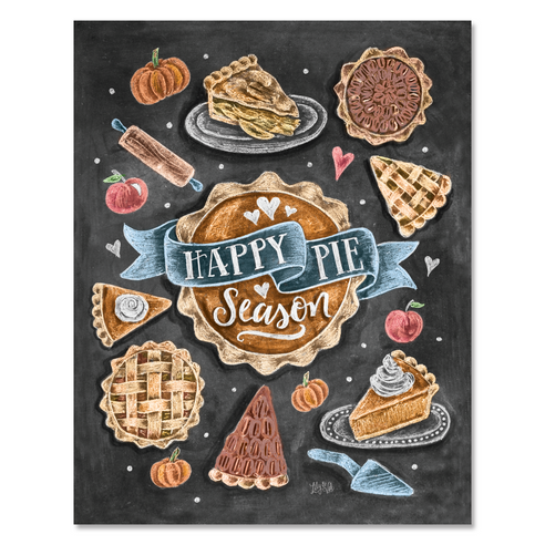 Happy Pie Season - Print