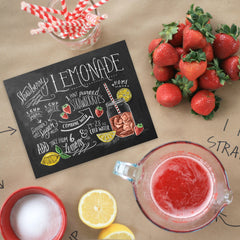 Strawberry Lemonade Recipe - Print