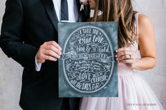 Wedding Vows - Print