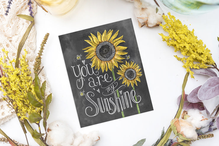 You Are My Sunshine - Print