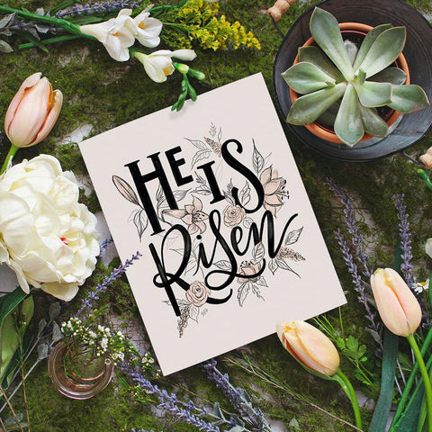He Is Risen - Print & Canvas