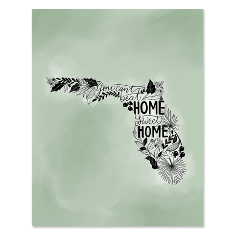 Florida - Print & Canvas