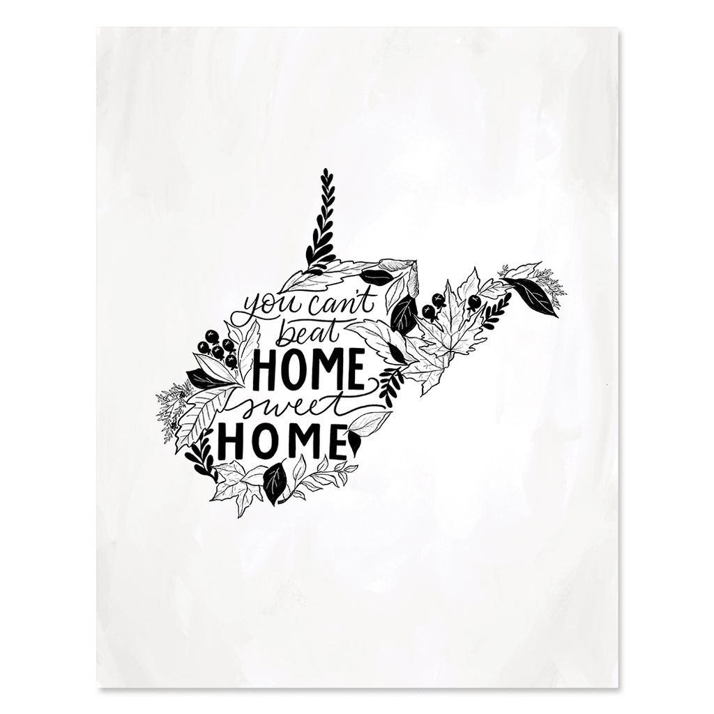 West Virginia - Print & Canvas