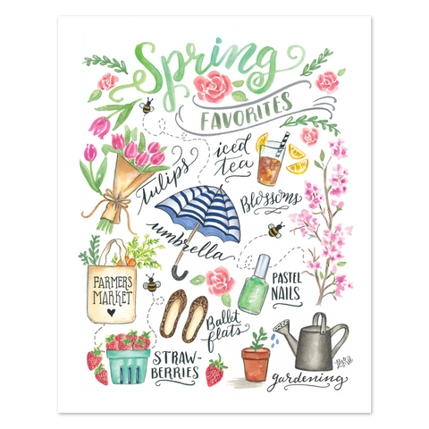 Spring Favorites - Print & Canvas