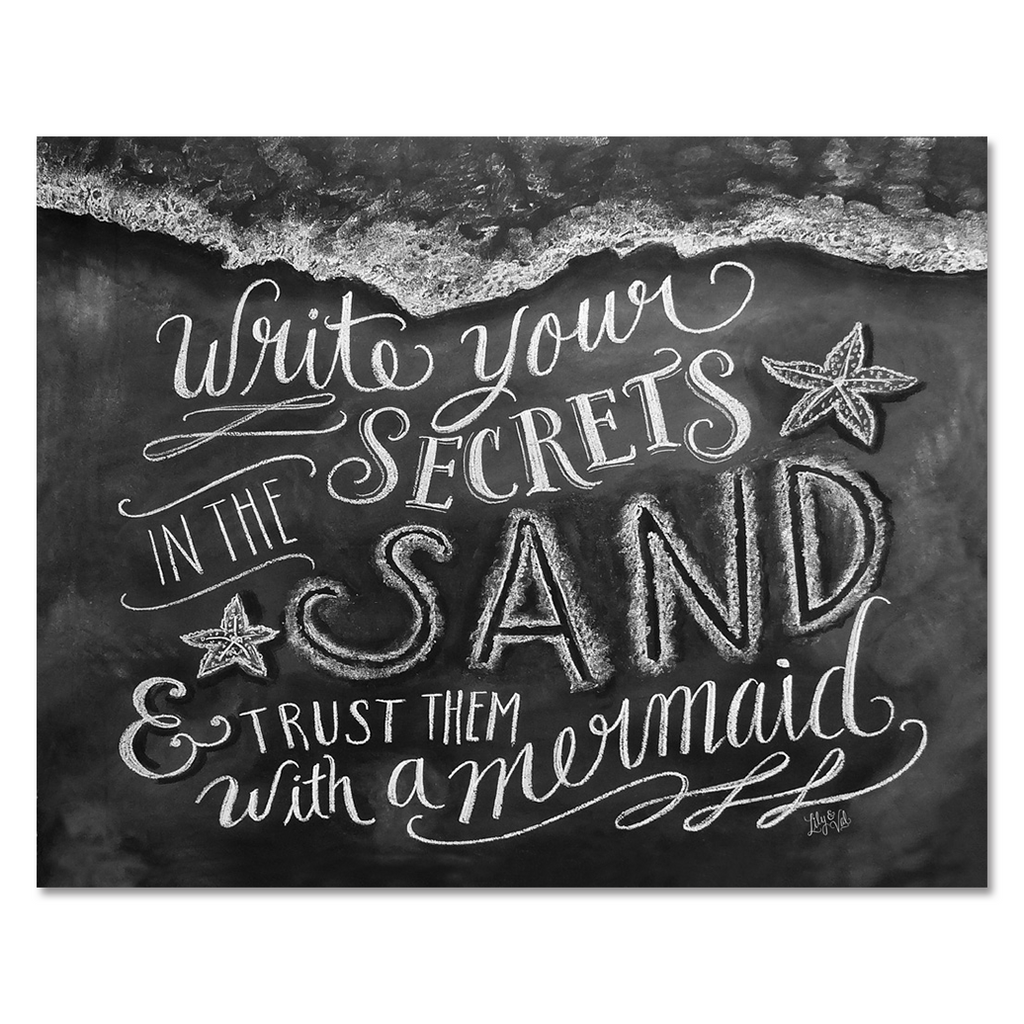 Secrets in the Sand - Print
