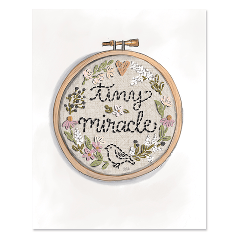 Tiny Miracle - Print & Canvas