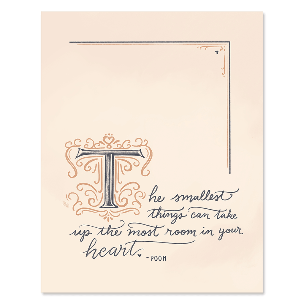 The Smallest Things - Print