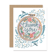 Thank You Hoop - A2 Note Card