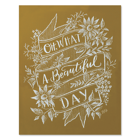 Oh What A Beautiful Day - Print & Canvas