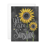 You Are My Sunshine - A2 Note Card