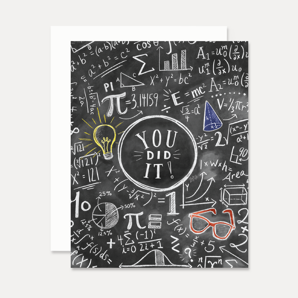 You Did It! - A2 Note Card