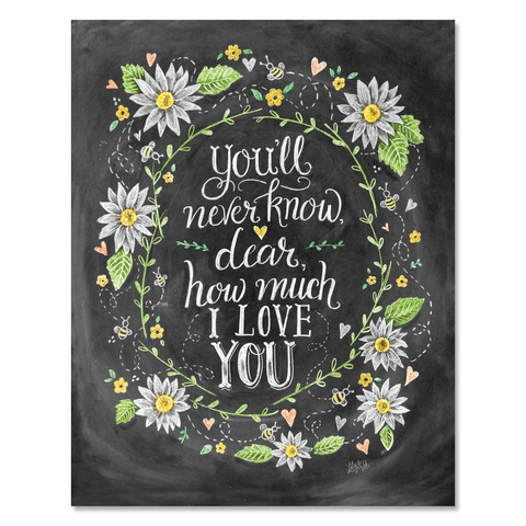 You'll Never Know Dear - Print & Canvas