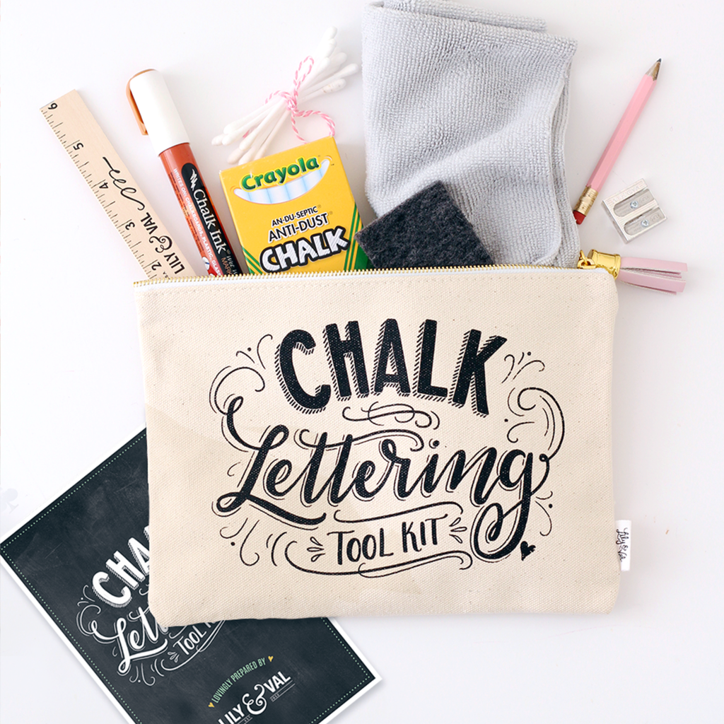 Lily & Val – Award Winning Chalk Lettering Tool Kit