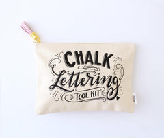 Complete Book of Chalk Lettering companion tool kit