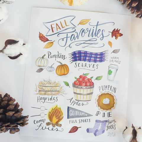 Fall Favorites - Print & Canvas