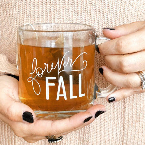 Forever Fall Limited Edition Glass Mug